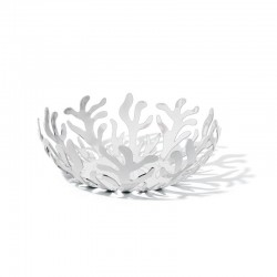 Fruit Holder Ø21Cm - Mediterraneo White - Alessi