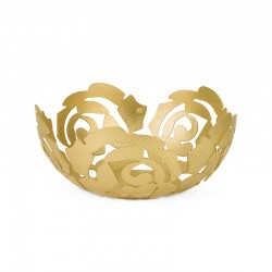 Fruit Bowl Ø21Cm - La Rosa Gold - Alessi