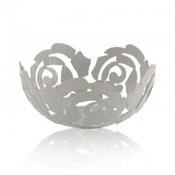 Fruit Bowl Ø29Cm - La Rosa White - Alessi