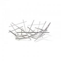 Basket 31cm - Blow Up Silver - Alessi ALESSI ALESFC02
