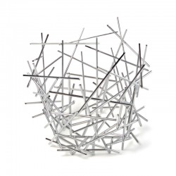 Cesta 36cm - Blow Up Plata - Alessi