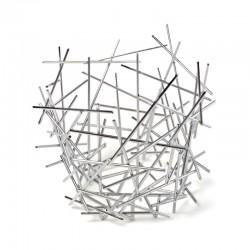 Citrus Basket 36cm - Blow Up Silver - Alessi ALESSI ALESFC03