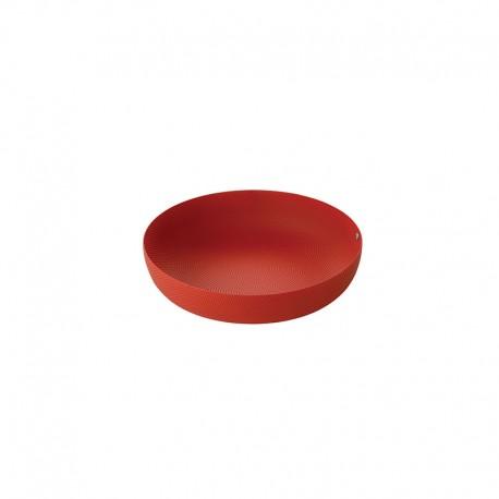 Cesta de Fruta ø21cm Rojo - Extra Ordinary Metal - Alessi ALESSI ALESJM17/21RT