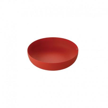 Cesta de Fruta ø24cm Rojo - Extra Ordinary Metal - Alessi ALESSI ALESJM17/24RT