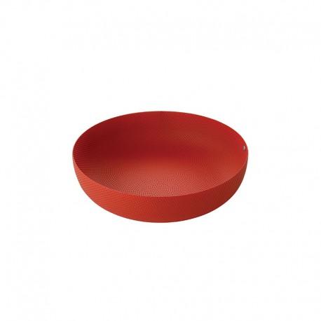 Cesta de Fruta ø29cm Rojo - Extra Ordinary Metal - Alessi ALESSI ALESJM17/29RT