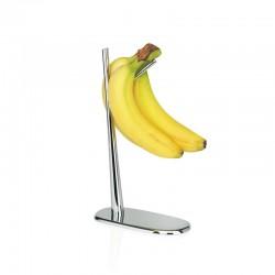 Suporte Para Bananas - Dear Charlie Prata - Alessi ALESSI ALESJT01