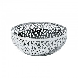 Open-Work Fruit Bowl Ø21Cm - Cactus! Inox - Alessi