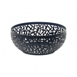 Open-Work Fruit Bowl Ø21Cm - Cactus! Black - Alessi