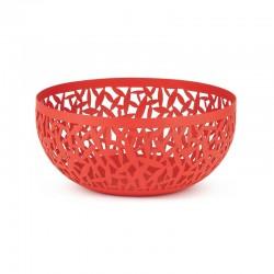 Frutero Perforado Ø21Cm - Cactus! Rojo - Alessi