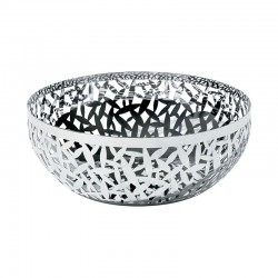 Open-Work Fruit Bowl Ø29Cm - Cactus! Inox - Alessi