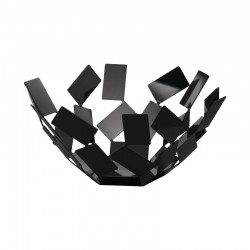 Fruit Holder - La Stanza Dello Scirocco Black 27Cm - Alessi ALESSI ALESMT02B