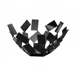 Fruit Holder - La Stanza Dello Scirocco Black 27Cm - Alessi ALESSI ALESMT02B