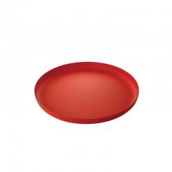 Tabuleiro Redondo Vermelho - Extra Ordinary Metal - Alessi ALESSI ALESJM14/35RT