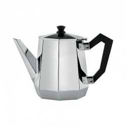Tea Pot 900ml - Ottagonale Silver - Alessi