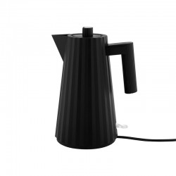 Electric Kettle - Plissé Black - Alessi ALESSI ALESMDL06B