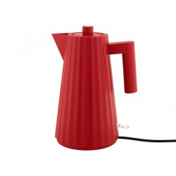 Electric Kettle - Plissé Red - Alessi ALESSI ALESMDL06R