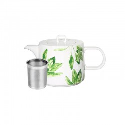 Teapot 1,25Lt - Muga Sage White And Green - Asa Selection
