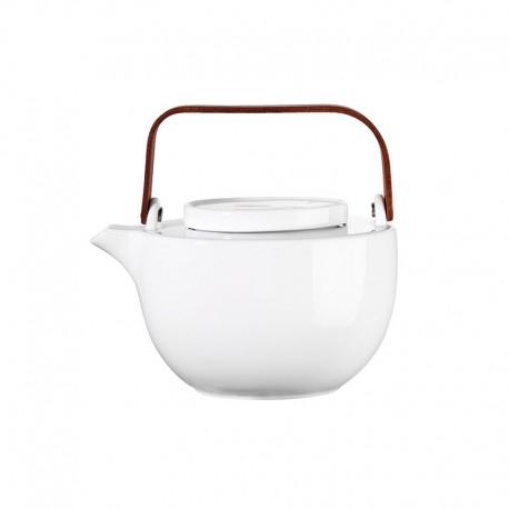 Oval Teapot 1,25L - Chava White - Asa Selection ASA SELECTION ASA90100017