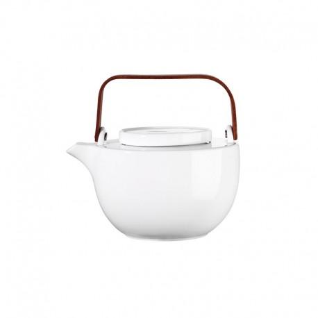 Oval Teapot 750Ml - Chava White - Asa Selection ASA SELECTION ASA90200017