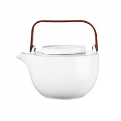 Oval Teapot 2L - Chava White - Asa Selection