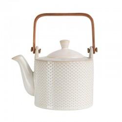 Tea Pot - Linna Piqué White - Asa Selection