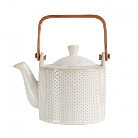 Tea Pot Piqué White - Linna - Asa Selection ASA SELECTION ASA90400071