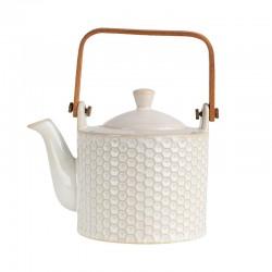 Tea Pot - Linna Comb White - Asa Selection