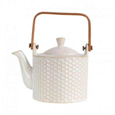 Tea Pot - Linna Comb White - Asa Selection | Tea Pot - Linna Comb White - Asa Selection