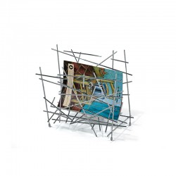 Magazine Holder - Blow up Silver - Alessi ALESSI ALESFC15