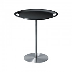 Table/tray Dark Grey - Op-la Steel And Dark Grey - Alessi ALESSI ALESJM12DG