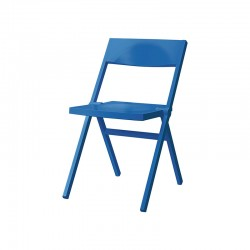 Folding and Stackable Chair Blue – Piana - Alessi ALESSI ALESASPN5015