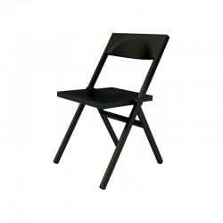 Silla Plegable y Apilable Negro – Piana - Alessi ALESSI ALESASPN9017