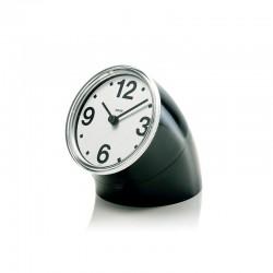 Desk clock Black – Cronotime - Alessi ALESSI ALES01B