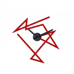 Wall Clock Red - Time Maze - Alessi ALESSI ALESDL01R