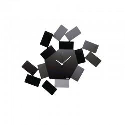 Wall Clock Black - La Stanza dello Scirocco - Alessi ALESSI ALESMT19B