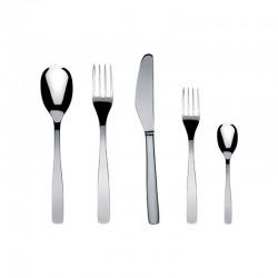 Servicio de Cubiertos de 5 Piezas - Knifeforkspoon Acero - A Di Alessi