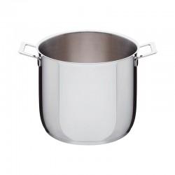 Stockpot Ø24cm – Pots&Pans Steel - A Di Alessi