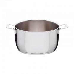 Cacerola con Dos Mangos Ø24cm - Pots&Pans - A Di Alessi