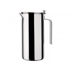 Double Wall Thermo Insulated Jug – Adagio Steel - A Di Alessi