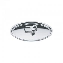 Lid 18Cm - Pots&Pans Silver - A Di Alessi