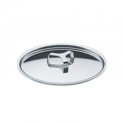 Lid 28Cm - Pots&Pans Silver - A Di Alessi