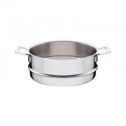 Cesto para Cozinhar a Vapor - Pots&Pans Inox - A Di Alessi A DI ALESSI AALEAJM307