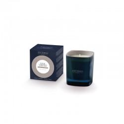 Vela Perfumada Aroma Madeira de Caxemira e Âmbar Cinza - Esteban Parfums