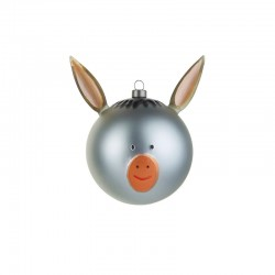 Christmas Bauble – Asinello - A Di Alessi