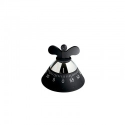 Kitchen Timer Black - Kitchen Timer - A Di Alessi A DI ALESSI AALEA09B