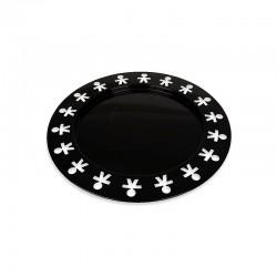 Round Tray Black Ø40cm – Girotondo - A Di Alessi