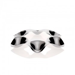Six-section Candies/Hors-d'oeuvre Bowl - Super Star Steel - Officina Alessi