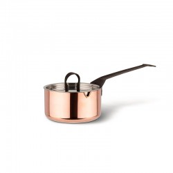 Saucepan Ø10cm with Lid - La Cintura di Orione Copper - Officina Alessi OFFICINA ALESSI OALE90105/10/C
