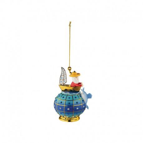 Ornamento de Navidad - Il Vecchio e Il Mare - Alessi ALESSI ALESMJ1612