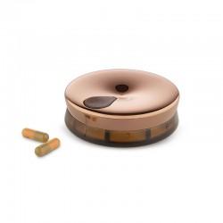 Caixa para Comprimidos Dourado - YoYo - Alessi ALESSI ALESBM08BR